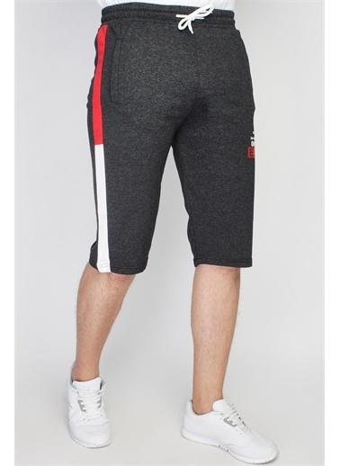 Rodi Jeans Erkek Ex Company Yan Ince Bantlı Şort Ty21Ye140163 Antrasit